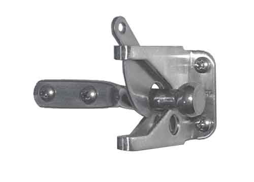Steel Gate Latch : Stainless steel automatic type gate latch details