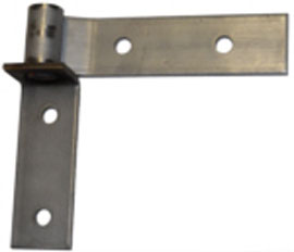 "6"" Mill Finish Stainless Steel Strap & Bracket"