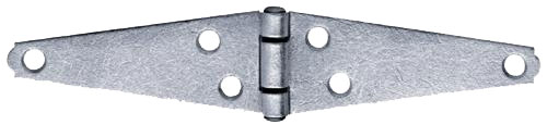 Heavy Duty Mechanically Galvanized Strap Hinge