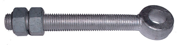 "6"" Hot Dipped Galvanized Eye Bolt"