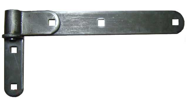 "12"" Mill Finish Stainless Steel Strap & Bracket"