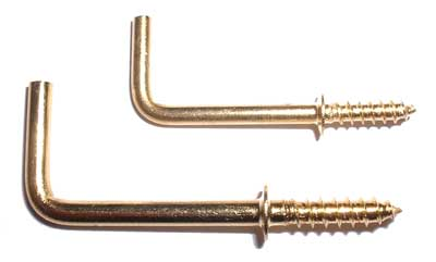 Solid Brass Shoulder Hook without Ball Tip